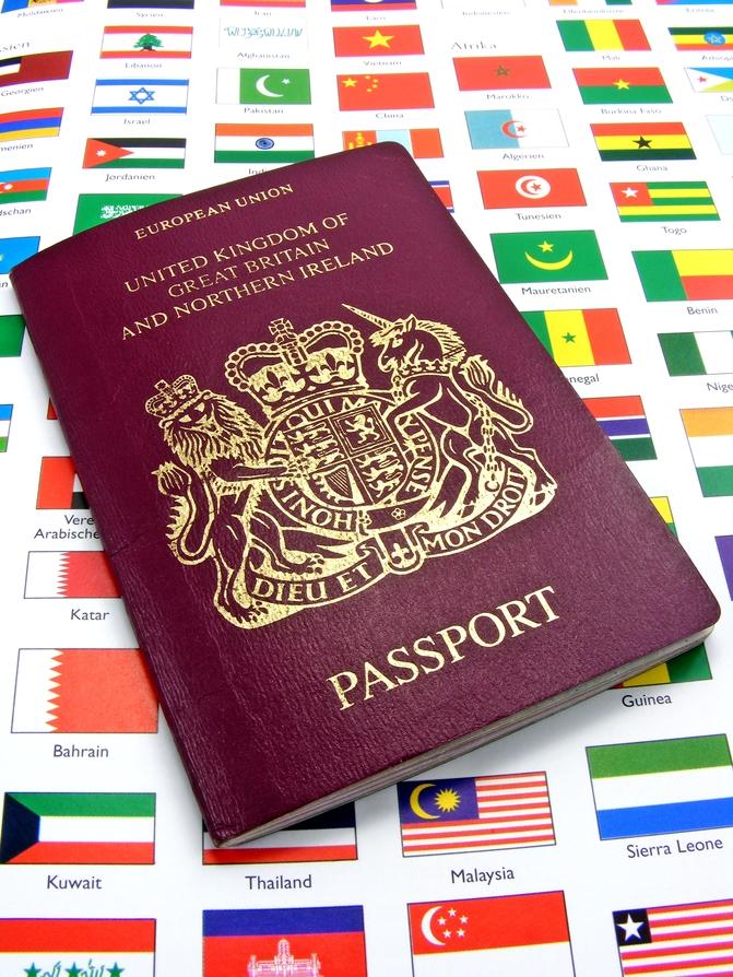 ITIN Application Passport