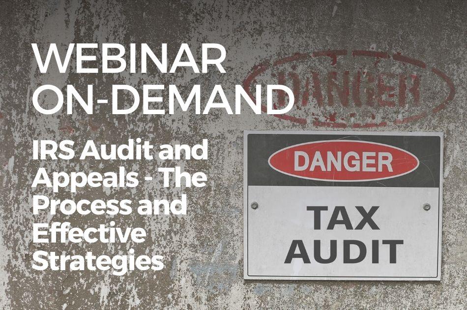 RS Audit & Appeals Effective Defesne Strategies