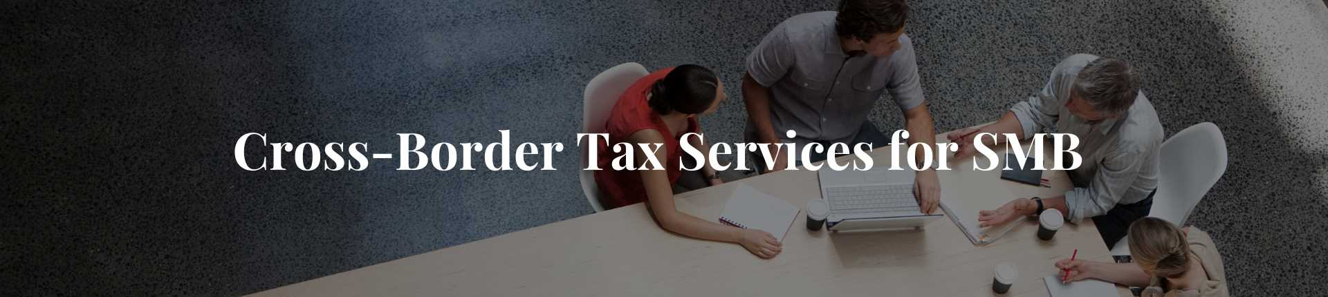 Cross-Border Tax Services Small Medium Size Businesses in GTA